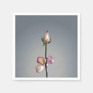 Until the last petal... paper napkin