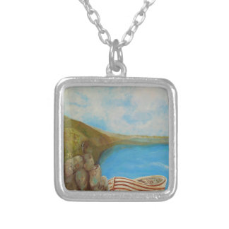Until the Next Time Silver Plated Necklace