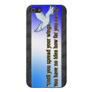 UNTIL YOU SPREAD YOUR WINGS iPhone 5/5S CASES