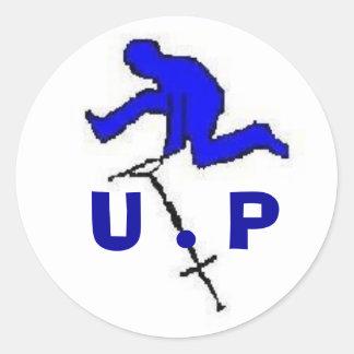 untilted pogo sticker one