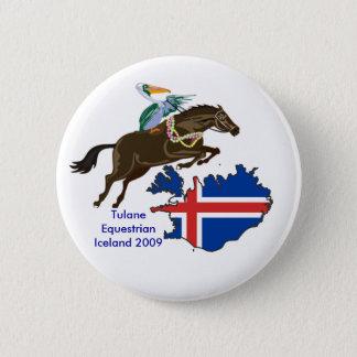Untitled1, 800px-IcelandStub, Tulane Equestrian... Pinback Button