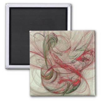 Untitled 01 2 inch square magnet