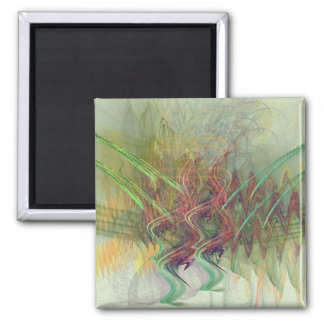 Untitled 02 2 inch square magnet