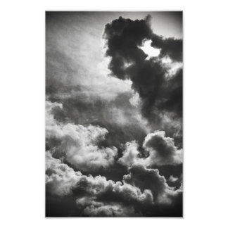 Untitled #1 (Clouds) Photo Print
