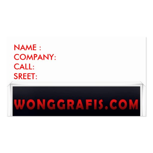 Untitled-1, NAME :COMPANY:CALL:SREET: Business Card Templates
