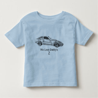 Untitled-1, We Love Daddy's       , Z Toddler T-shirt