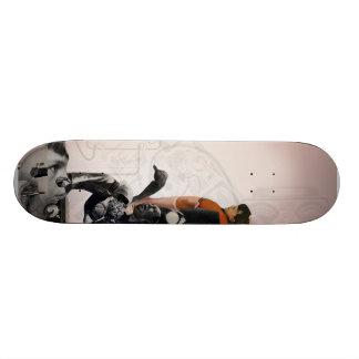 Untitled #2 collage skate deck