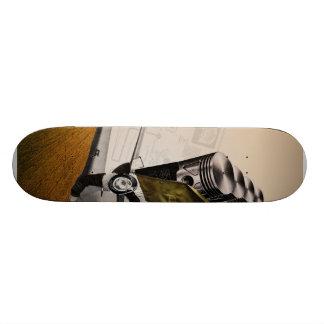Untitled #3 collage skate deck