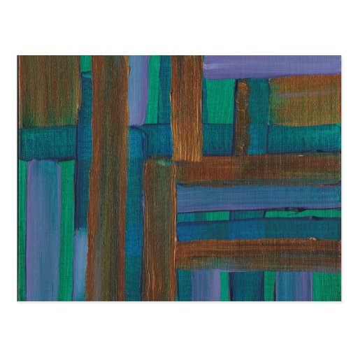 Untitled Abstract Postcard