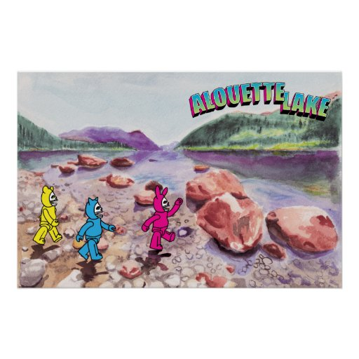 (Untitled) Alouette Lake Poster