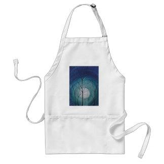 untitled aqua adult apron