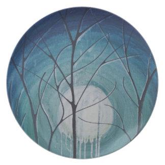 untitled aqua party plates
