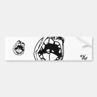 untitled car bumper sticker