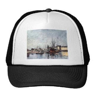 Untitled by Eugene Boudin Trucker Hat