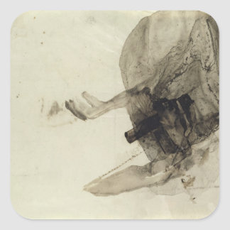 Untitled, c.1853-5 square sticker