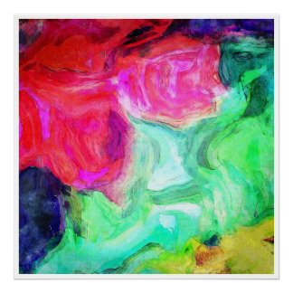 Untitled Colorful Abstract Poster