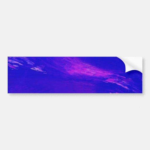 Untitled Creation Car Bumper Sticker