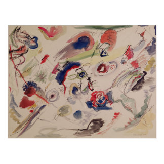 Untitled - First Abstraction, 1910 Postcard