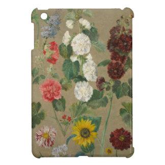 Untitled (Flowers) (oil on board) iPad Mini Cover