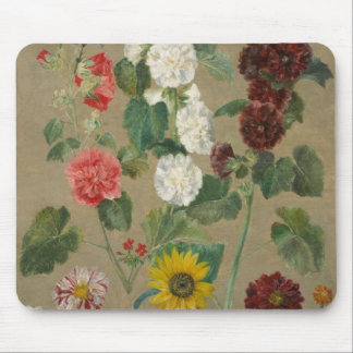 Untitled (Flowers) (oil on board) Mouse Pad