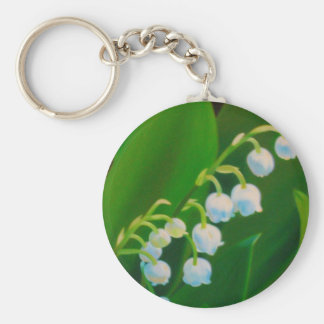 Untitled Lily of the Valley Keychain