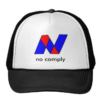 untitled, no comply hats