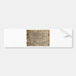 Untitled (Non Objective Composition) by Pavel Bumper Sticker
