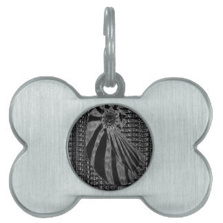 Untitled Number One - Inverse Variant Pet Tags