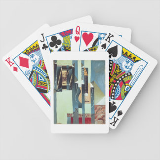 Untitled (oil on canvas) bicycle playing cards