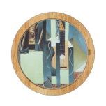 Untitled (oil on canvas) round cheeseboard