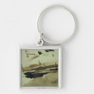 Untitled, or: Evocation of an island, 1870 Keychain