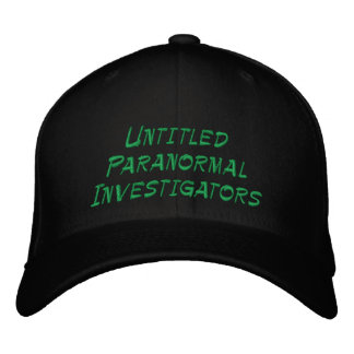 Untitled Paranormal Investigators Cap