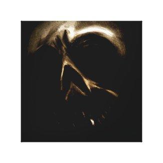 Untitled Skull Canvas Print