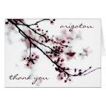 untitled, thank you, arigatou card