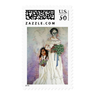 Untitled/The Bride, Postage Stamp