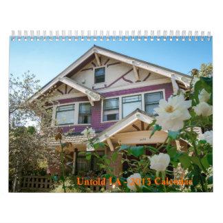 Untold LA - 2013 Calendar