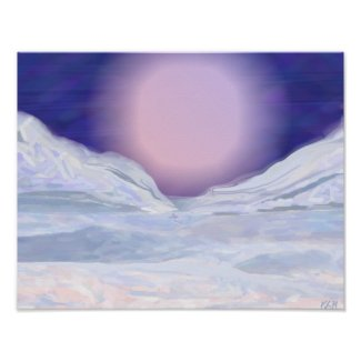 Untouched Snow print