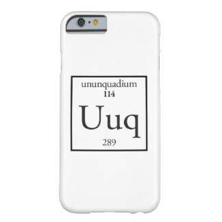 Ununquadium Barely There iPhone 6 Case