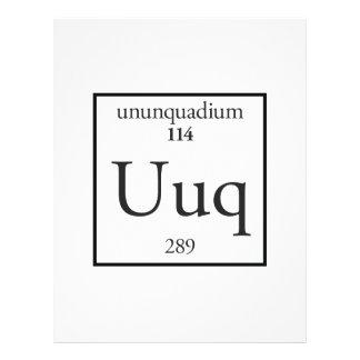 Ununquadium Flyer Design