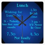 Unusual 1.30 Clock One-Thirty Break Time Clock 5