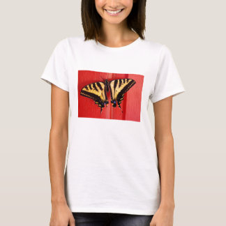 unusual background swallowtail butterfly T-Shirt