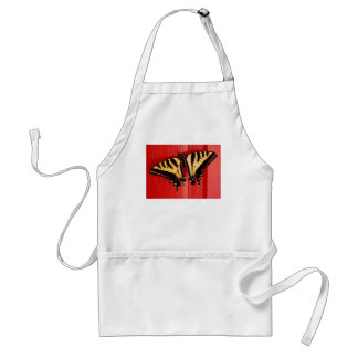 unusual background swallowtaill butterfly adult apron