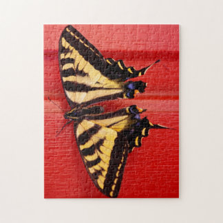 unusual background swallowtaill butterfly jigsaw puzzle