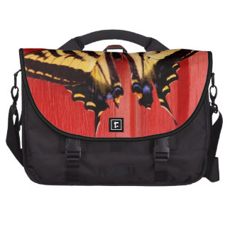 unusual background swallowtaill butterfly commuter bag