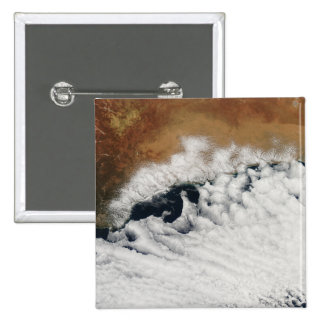 Unusual cloud formations pinback button