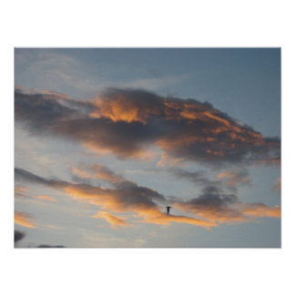 Unusual Cloud Formations Poster