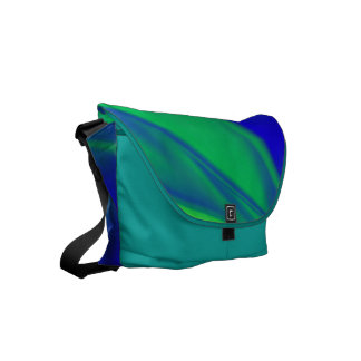 Unusual Color Combo Small Messenger Bag