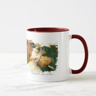 Unusual Color of Iris Mug