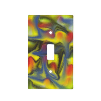 Unusual Colorful Art Switch Plate Cover