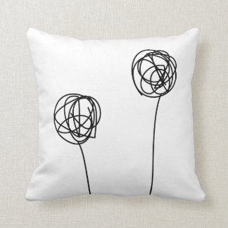 Unusual flowers pillow